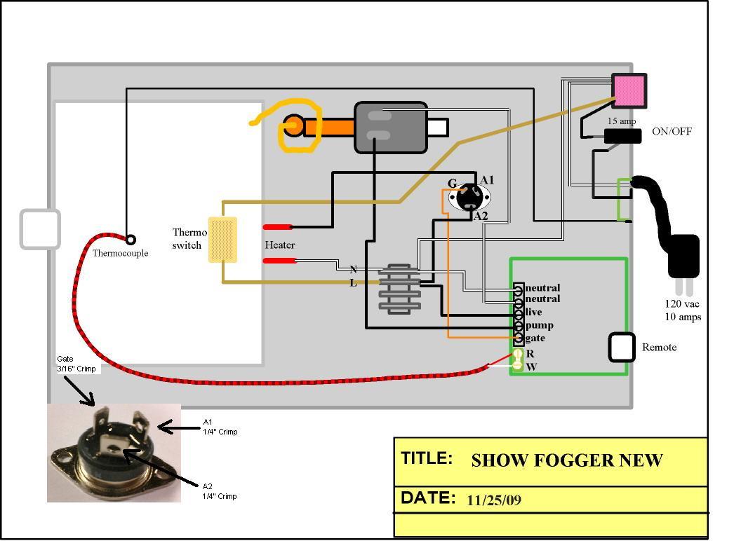 Wiring Schematic For Smoke Machine - Circuit Wiring And Diagram Hub •